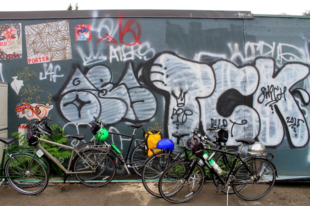 Bikes & Graffitti in Portland