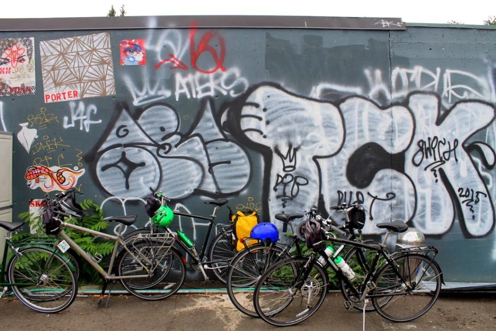 Bikes & Graffitti in Portland