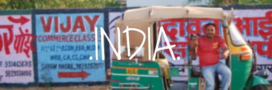 India. Destinations