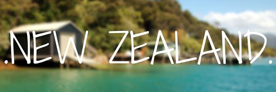 New zealand. Destinations