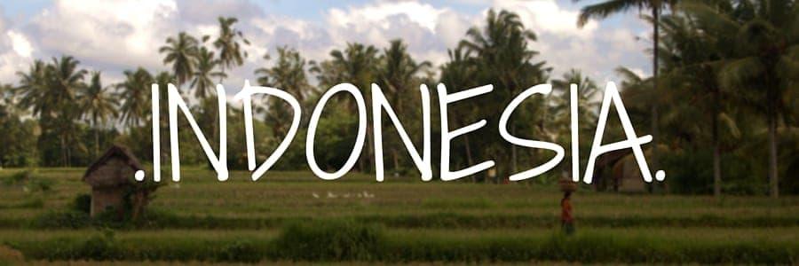indonesia. Destinations