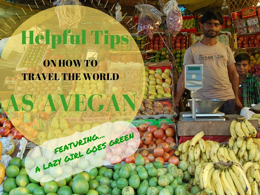 Helpful tips on how to travel the world as a vegan www.anitahendrieka.com