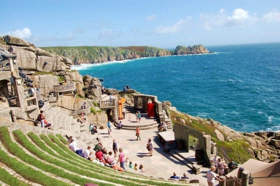 The Best Beach in Cornwall: Porthcurno Beach