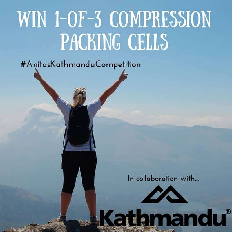 Win 1-of-3 Kathmandu Packing Cells Perfect For Backpackers