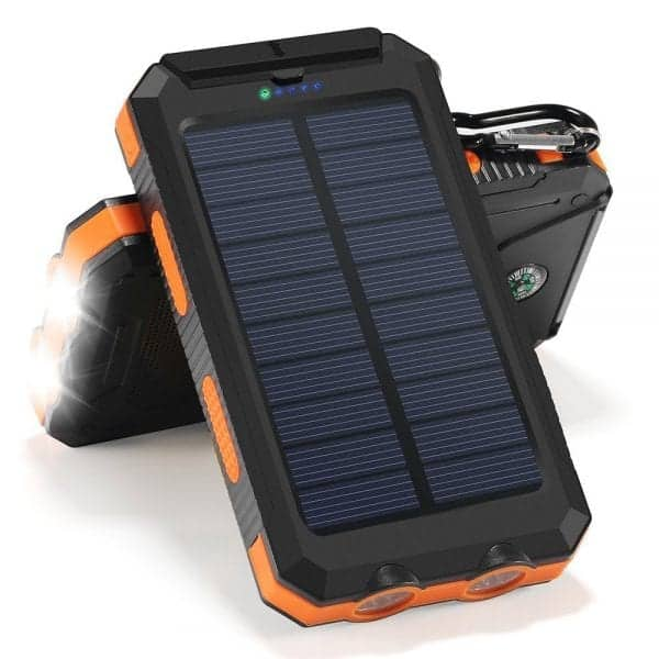 Solar Charged Battery Bank