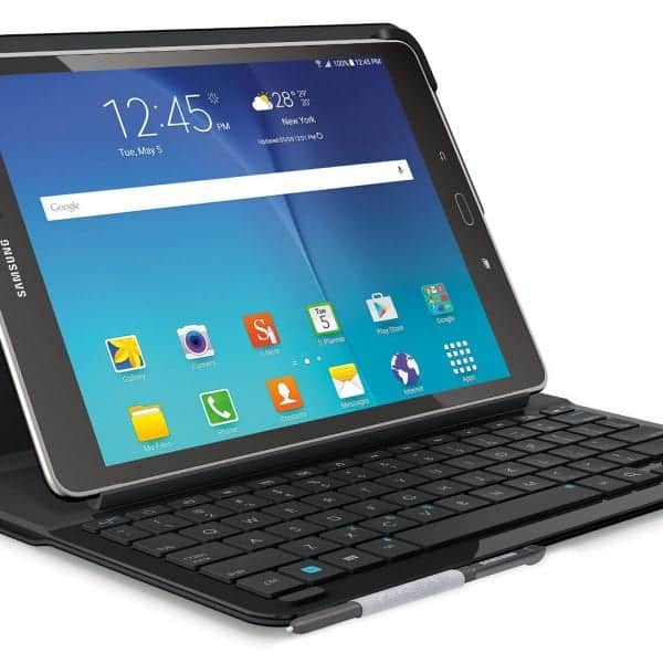Logitech Type-S Keyboard Case for Samsung Galaxy Tab A 9.7, Black