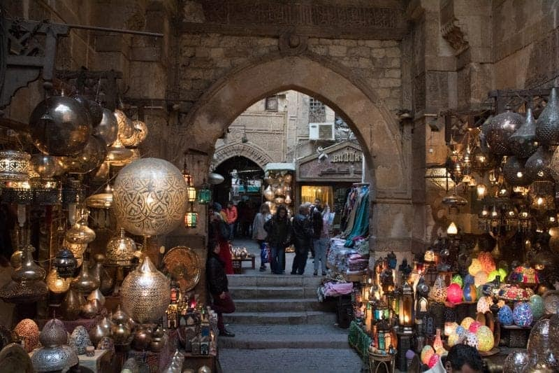 The beautiful bazaar of Cairo