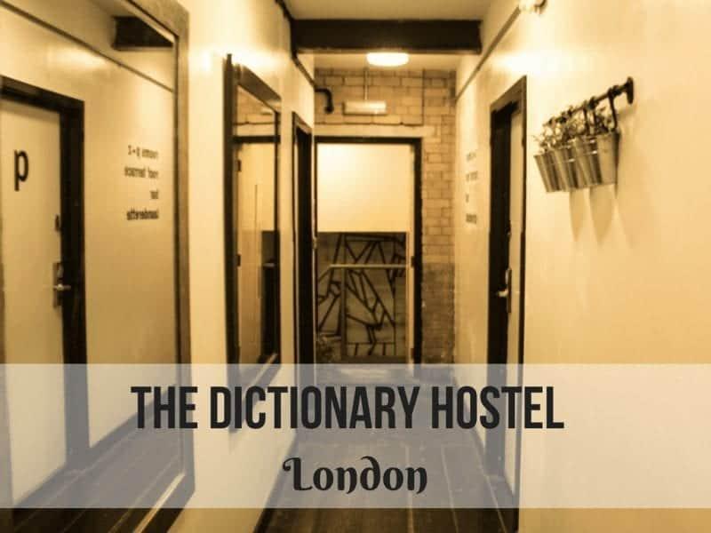 The Dictionary Hostel – London