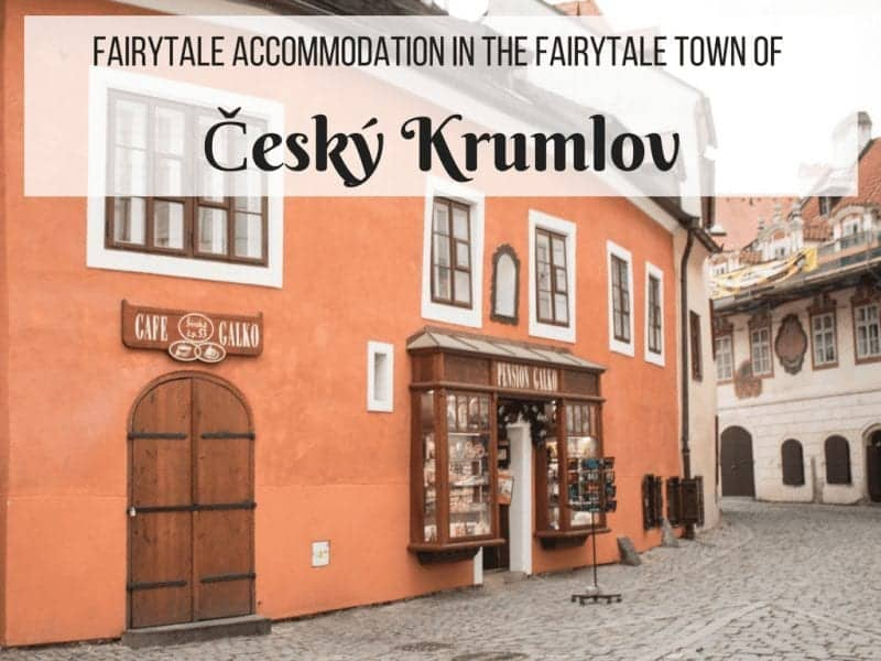 The Best Accommodation in Cesky Krumlov