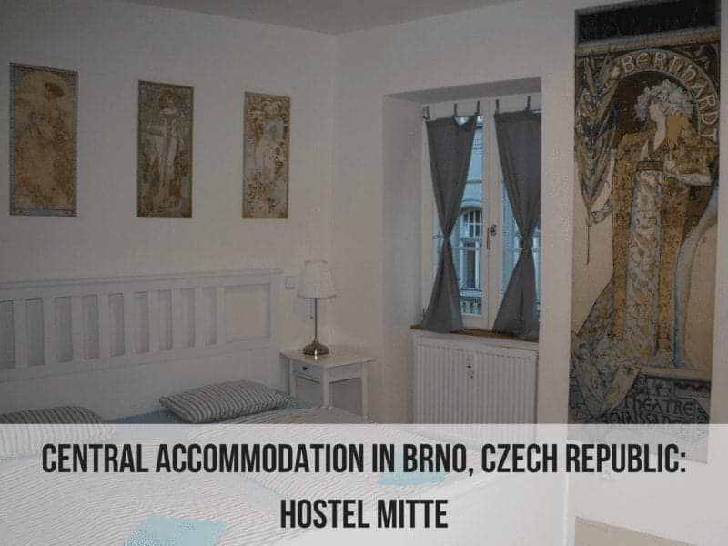 Central Accommodation in Brno, Czech Republic: Hostel Mitte