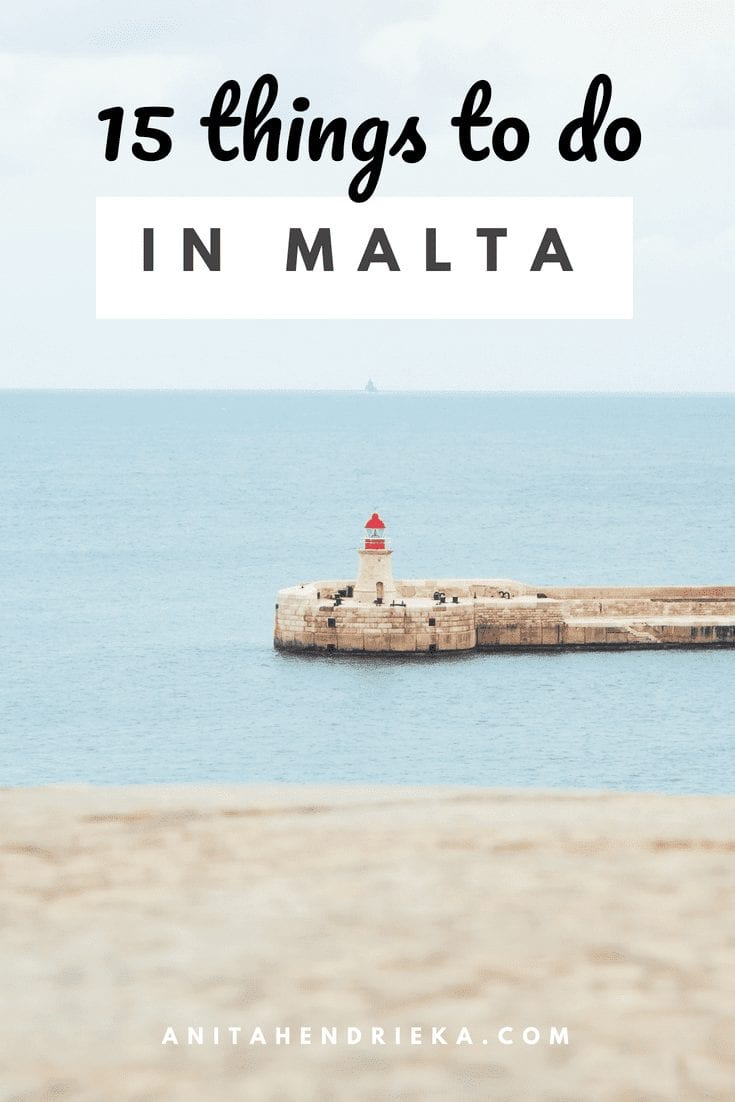 Visit Malta - 15 Things You Must Do on the Island