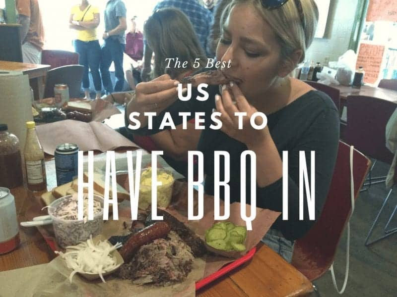 The 5 Best US States to Have BBQ In