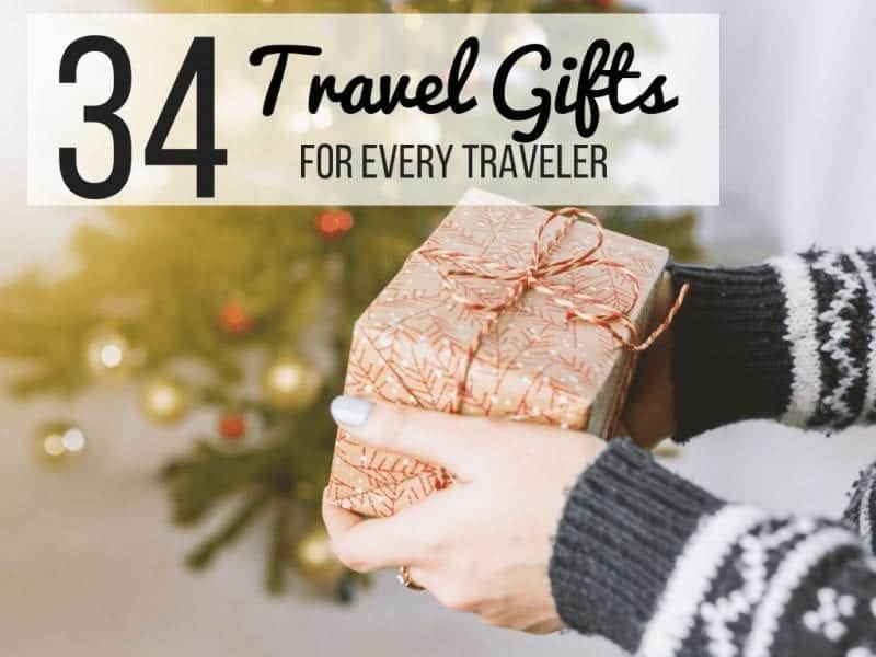 34 of the Best Travel Gifts For Any Traveler