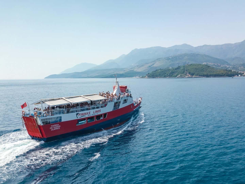 How To Get From Corfu to Albania (Corfu to Saranda)