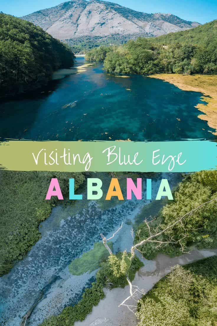 Visiting the Beautiful Blue Eye, Albania (Syri i Kalter)