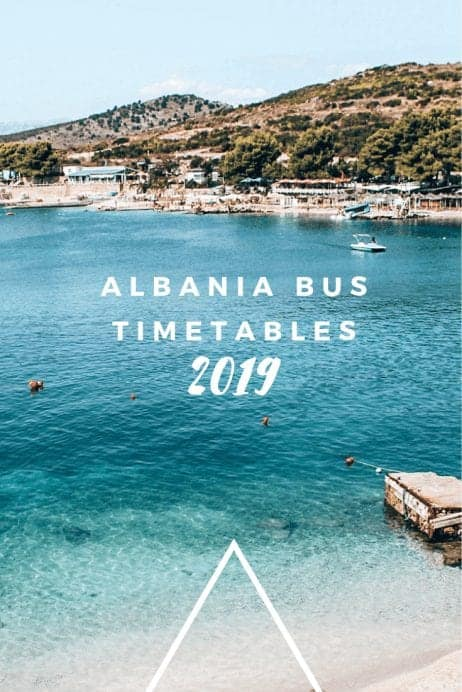 Albania Bus Timetables 2019 for Popular Routes